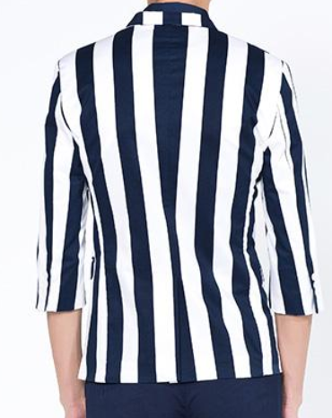 Find navy and white striped blazer at ShopStyle. Shop the latest collection of navy and white striped blazer from the most popular stores - all in one.