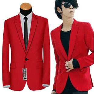 Images of Red Blazers For Men - Reikian